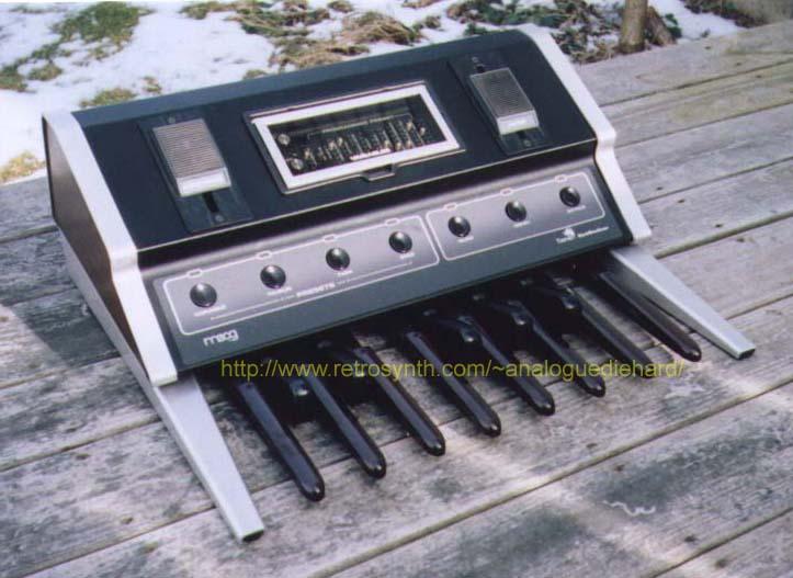 Moog Taurus I bass pedals